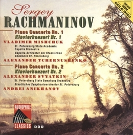 PIANO CONCERTOS 1&2 W/MISCHUK Audio CD, S. RACHMANINOV, CD