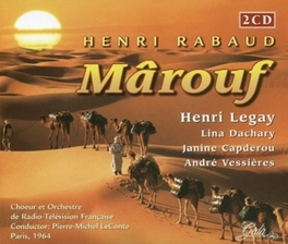 MAROUF ORCH.RADIO-TV FRANCAISE/PIERRE-MICHEL LECONTE Audio CD, H. RABAUD, CD