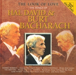 LOOK OF LOVE SONGS OF HAL DAVID & BURT BACHARACH Audio CD, V/A, CD