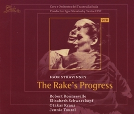 RAKE'S PROGRESS VENICE 1951/W/IGOR STRAVINSKY-COND., SCALA ORCH.& CHOIR Audio CD, I. STRAVINSKY, CD