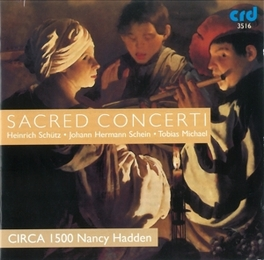 SACRED CONCERTI Audio CD, CIRCA 1500, CD