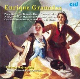 PIANO QUINTET IN G-MINOR ALBERNI QUARTET/RAJNA Audio CD, E. GRANADOS, CD