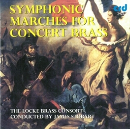 SYMPHONIC MARCHES FOR CON Audio CD, LOCKE BRASS CONSORT, CD