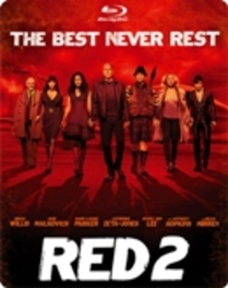 RED 2 -LTD- W/ BRUCE WILLIS, JOHN MALKOVICH, MORGAN FREEMAN MOVIE, Blu-Ray