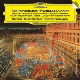 ALBINONI/VIVALDI/BACH/MOZ BERLINER PHILHARMONIKER/HERBERT VON KARAJAN BERLINER PHILHARMONIKER, Vinyl LP