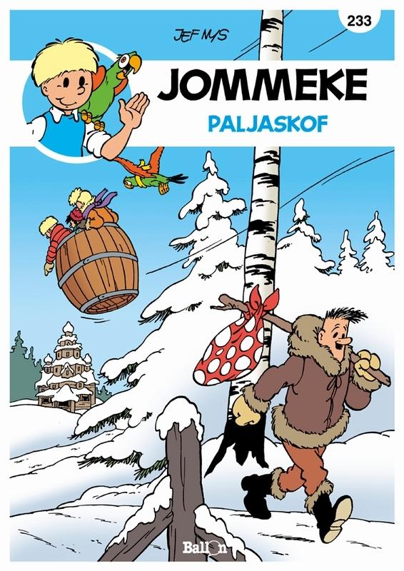 JOMMEKE 233. PALJASKOF JOMMEKE, Nys, Jef, Paperback