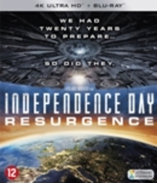 INDEPENDENCE DAY: RES-4K- .. RESURGENCE // BILINGUAL //CAST: JEFF GOLDBLUM MOVIE, Blu-Ray