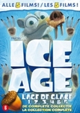 Ice age 1-5, (DVD)