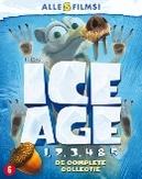 Ice age 1-5, (Blu-Ray)