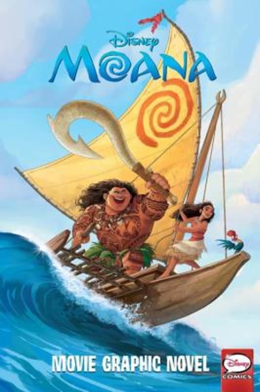 Moana Movie Graphic Novel, Disney, Paperback
