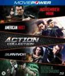 Action collection 1 (2016) , (Blu-Ray) NOVEMBER MAN-AMERICAN HEIST-SURVIVOR-REVENGE OF GREEN D. BLUR