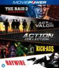 Action collection 2 (2016), (Blu-Ray) RAID 2-ACT OF VALOR-KICK-ASS-HAYWIRE. BLURAY
