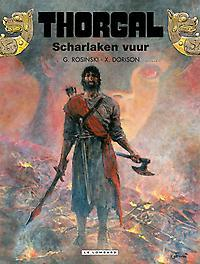THORGAL 35. SCHARLAKEN VUUR THORGAL, Dorison, Xavier, Paperback