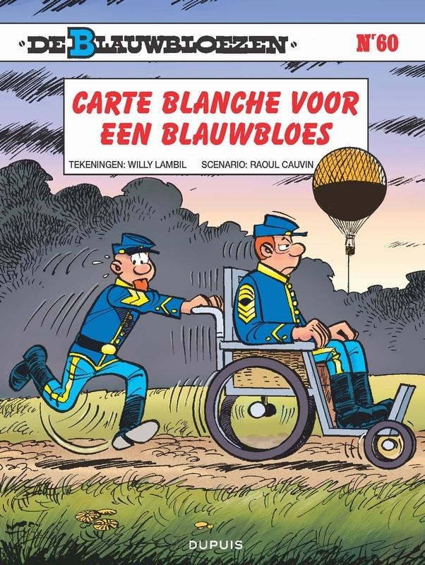 BLAUWBLOEZEN 60. CARTE BLANCHE VOOR EEN BLAUWBLOES BLAUWBLOEZEN, Cauvin, Raoul, Paperback