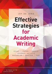 Effective strategies for...