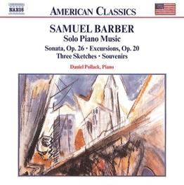 SONATA OP.26 DANIEL POLLACK S. BARBER, CD