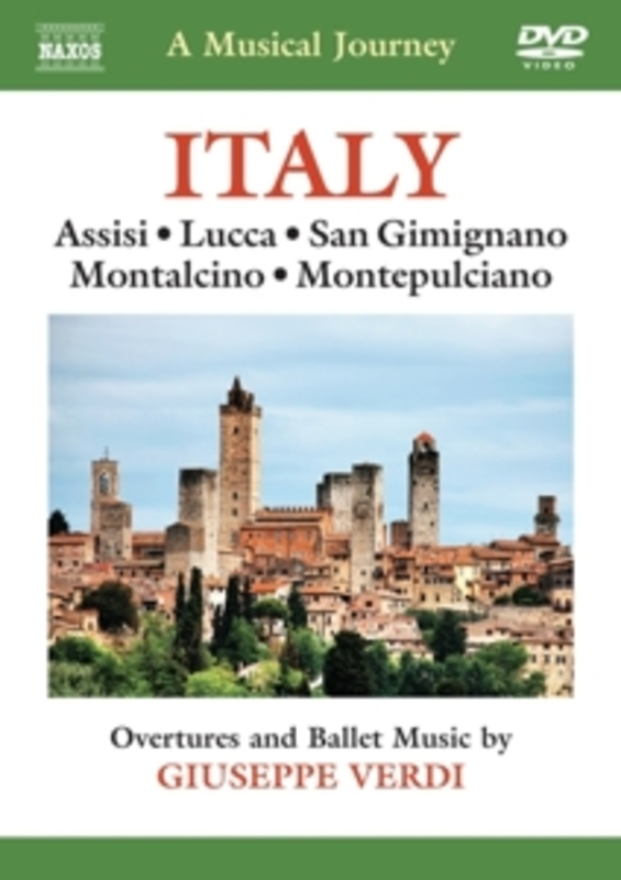 ITALY:A MUSICAL JOURNEY NTSC//ASSISI/LUCCA/SAN GIMIGNANO/MONTALCINO... G. VERDI, DVDNL