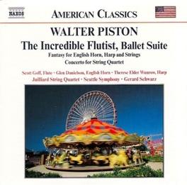 INCREDIBLE FLUTIST W. PISTON, CD