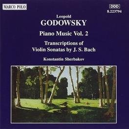 PIANO MUSIC VOL.2 W/K.SCHERBAKOV L. GODOWSKY, CD