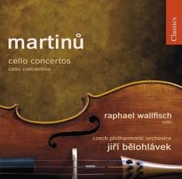 CELLO CONCERTOS WALLFISCH/CZECH PHILHARMONIC ORCHES//BELOHLAVEK, J. Audio CD, B. MARTINU, CD