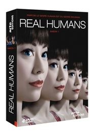 REAL HUMANS FRENCH VERSION // BY LARS LUNDSTROM TV SERIES, DVD