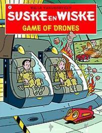 SUSKE EN WISKE 337. GAME OF DRONES SUSKE EN WISKE, Willy Vandersteen, Paperback