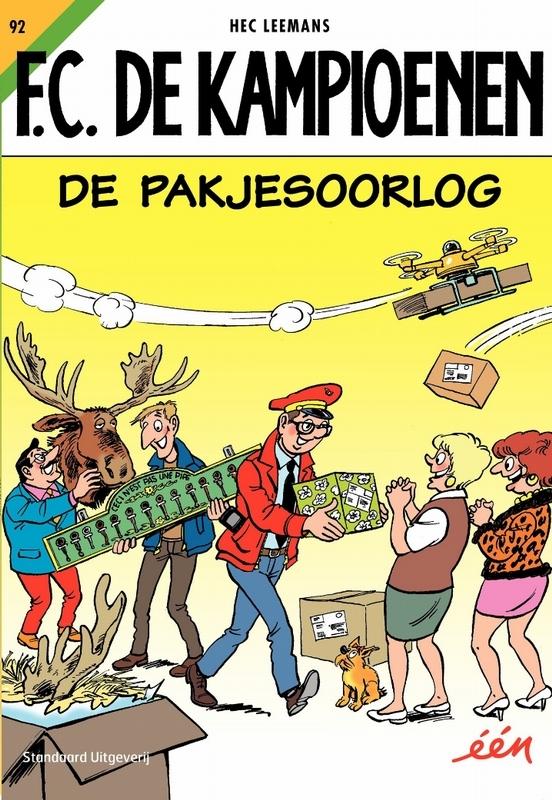 KAMPIOENEN 92. DE PAKJESOORLOG KAMPIOENEN, Leemans, Hec, Paperback