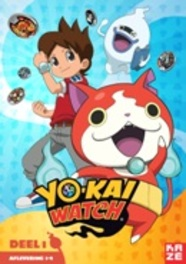 YO-KAI WATCH - DEEL 1 AFLEVERINGEN 1-9. ANIMATION, DVD