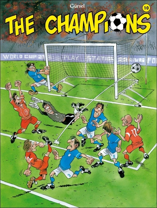 The Champions: 10 CHAMPIONS, Gürsel, Paperback