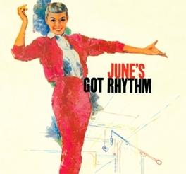 JUNE'S GOT RYTHM Audio CD, JUNE CHRISTY, CD