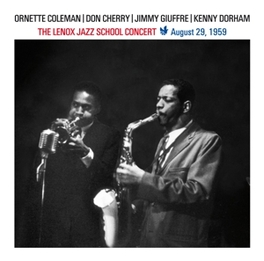 LENOX JAZZ SCHOOL CONCERT AUGUST 29, 1959 // COLEMAN/CHERRY/GIUFFRE/DORHAM Audio CD, V/A, CD