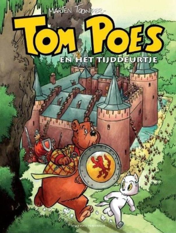 Tom Poes en het tijddeurtje Muiderslot-editie, Marten Toonder, Hardcover