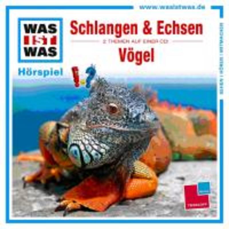 WAS IST WAS FOLGE 48 SCHLAGEN UND ECHSEN/VOGEL Manfred Baur, CD