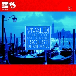 CONCERTOS AND SONATAS I SOLISTI DI MILANO A. VIVALDI, CD