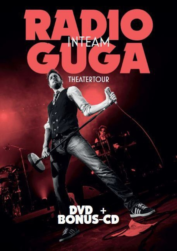 RADIO GUGA -DVD+CD- MEESTER IMITATOR IN ZIJN NIEUWSTE THEATER SHOW GUGA BAUL, DVD