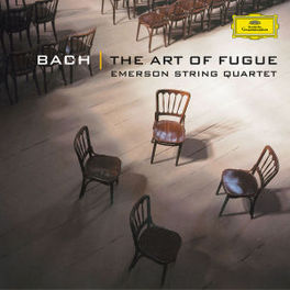 ART OF FUGUE EMERSON STRING QUARTET Audio CD, J.S. BACH, CD
