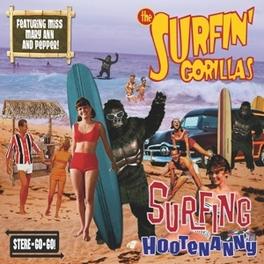 SURFING HOOTENANNY SURFIN' GORILLAS, CD