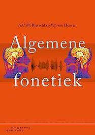 Algemene fonetiek. A.C.M. Rietveld, Paperback