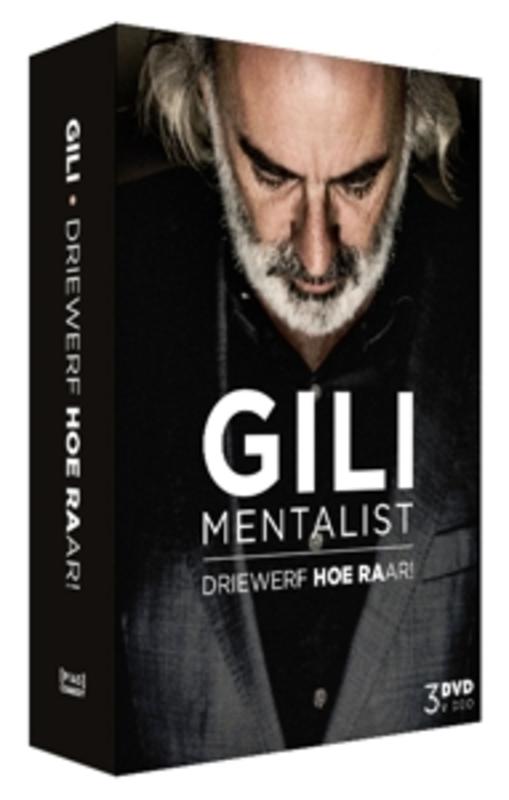Gili - Driewerf Hoe Raar!, (DVD) GILI IS EEN MENTALIST, EEN COMEDIAN, EEN ILLUSIONIST .. DVDNL