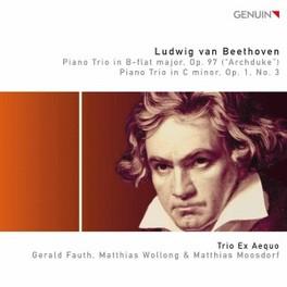 PIANO TRIOS OP.97 TRIO EX AEQUO L. VAN BEETHOVEN, CD