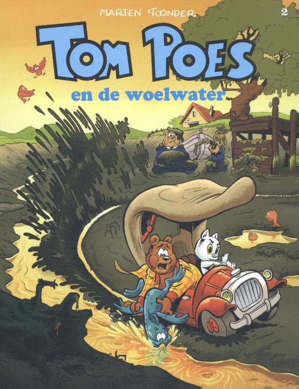 Tom Poes en de woelwater TOM POES, Toonder, Marten, Paperback