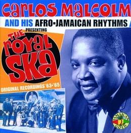 ROYAL SKA Audio CD, CARLOS MALCOLM, CD