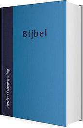 Bijbel hardcover (HSV) – 12×18 cm. 12×18 cm blauw, Hardcover  <span class=