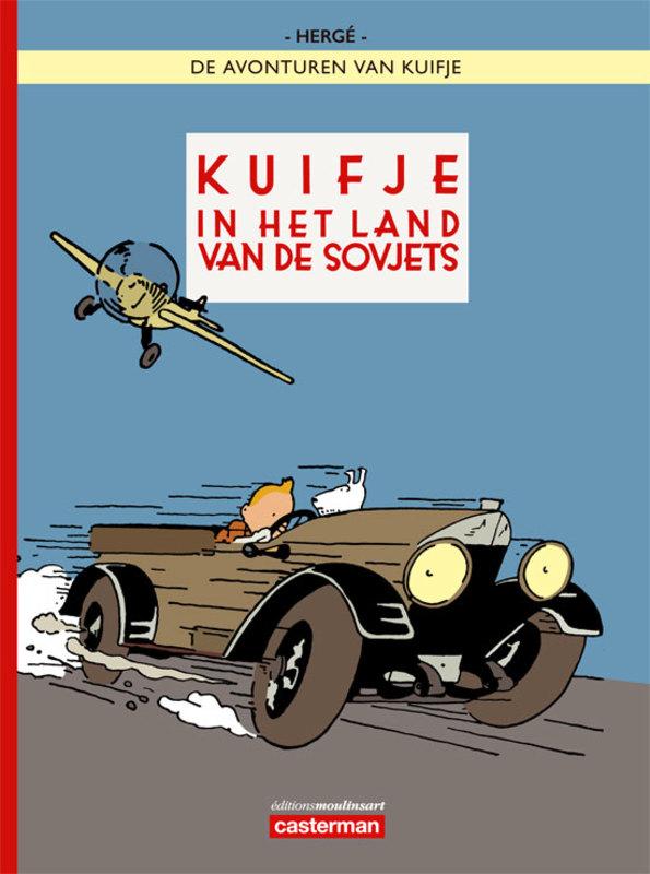 KUIFJE 01. (KLEUR) KUIFJE IN HET LAND VAN DE SOVJETS KUIFJE, Hergé, Paperback