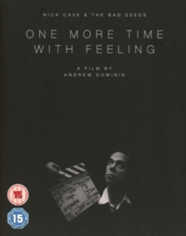 ONE MORE TIME.. -O-CARD- .. WITH FEELING. CAVE, NICK & BAD SEEDS, BLURAY
