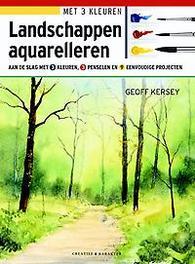 Landschappen aquarelleren. Kersey, Geoff, Paperback