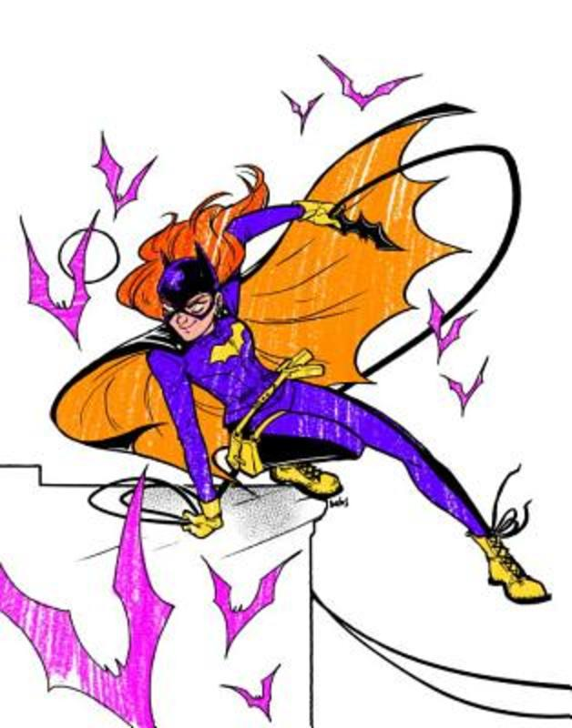 Batgirl An Adult Coloring Book, Various, Paperback