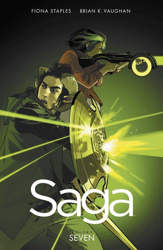Saga 7 SAGA, Brian, K. Vaughan, Paperback