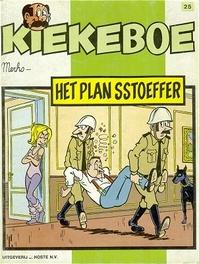 Het plan Sstoeffer KIEKEBOES DE, Merho, Paperback