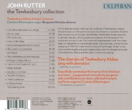 TEWKESBURY COLLECTION ABBEY SCHOLA CANTORUM/BENJAMIN NICHOLAS J. RUTTER, CD